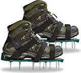 Punchau Lawn Aerator Shoes w/Metal Buckles and 3