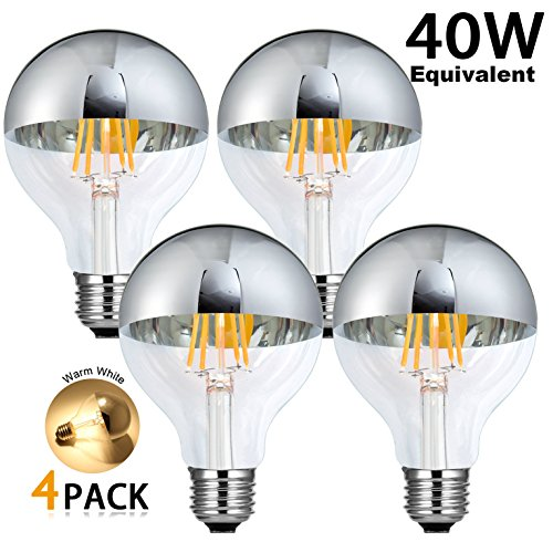 Half Chrome Light Bulb Led in Florida - 7