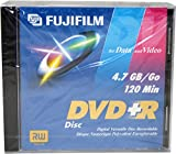 Fuji Dvd+r Dvd+r 4.7gb General Purpose Dvd Disc 5 Pack