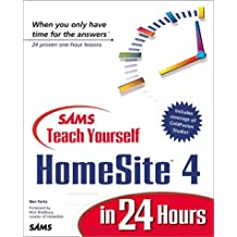 Teach Yourself Homesite 4 in 24 Hours with CDROM