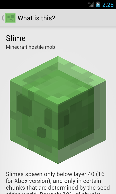 Amazon Com Slime Finder For Minecraft Appstore For Android
