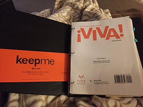 Viva! with Student Textbook, Supersite Plus, WebSAM Code, Supersite, vText, 3rd Student Edition