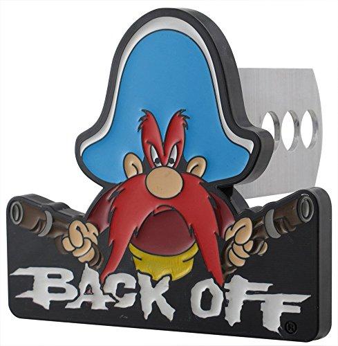 Plasticolor Yosemite Sam Back Off Hitch Cover ()