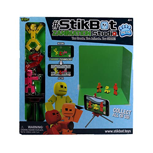 Zing TST617A Stikbot Action Figure from Zing