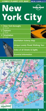 Lonely Planet New York City (Lonely Planet City Maps)
