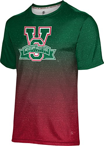 Mississippi Valley State University (ProSphere Mississippi Valley State University Men's Shirt - Ombre (Medium))