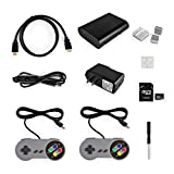 SainSmart Game Console Station Kit for RetroPie Raspberry Pi 3 32GB SD Card +Power Supply +Case