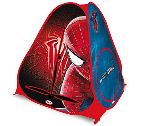 Tienda Pop-Up Spiderman + Balón saltador Barbapapá 45 cm: Amazon ...