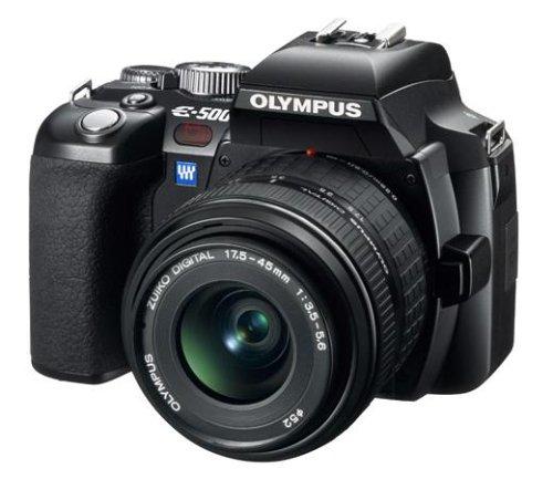 OLYMPUS デジタル一眼レフカメラ E-500 バリューキット ブラック 17 5-45mmレンズつき