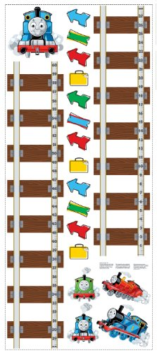 RoomMates Thomas & Friends Peel and Stick Growth Chart ()