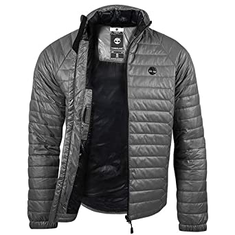 Timberland Men's Earthkeepers Lightweight Quilted Jacket -Grey (XL ...
