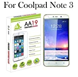 Coolpad Note 3/ Note 3 Plus Tempered Glass Screen Guard Protector By AA19