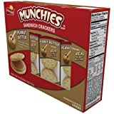 Munchies Sandwich Crackers Peanut Butter 11.36 Oz (Pack of 2)