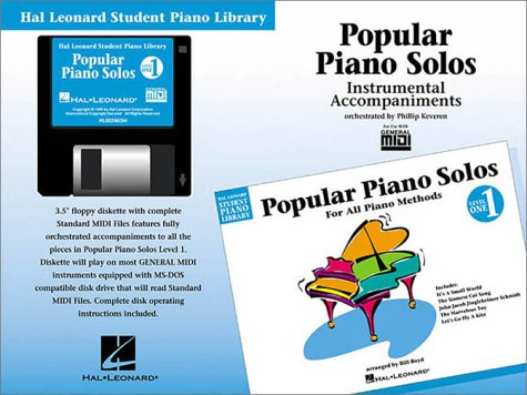 Popular Piano Solos - Level 1 - GM Disk: Hal Leonard Student Piano Library