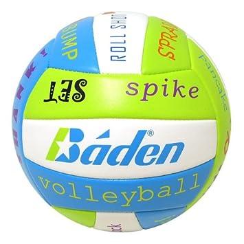 Baden BVSL14-31-F - Balón de Voleibol para Exterior: Amazon.es ...