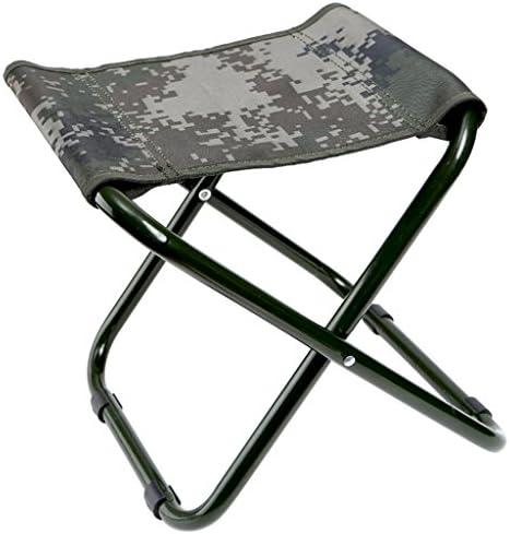 迷彩折り畳みスツールホーム屋外ポータブル折り畳みキャンプ用ピクニックカモ釣りスツール23 * 26 * 24センチメートル