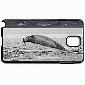 Customized Cellphone Case Back Cover For Samsung Galaxy Note 3, Protective Hardshell Case Personalized Bottlenose Dolphin Salmon Bottlenose Dolphin Salmon Black
