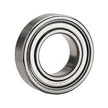NTN Bearing 696ZZ Single Row Deep Groove Radial Ball Bearing, Normal Clearance, Steel Cage, 6 mm Bore ID, 15 mm OD, 5 mm Width, Double Shielded