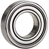 NTN Bearing 6205ZZ Single Row Deep Groove Radial Ball Bearing, Normal Clearance, Steel Cage, 25 mm Bore ID, 52 mm OD, 15 mm Width, Double Shielded