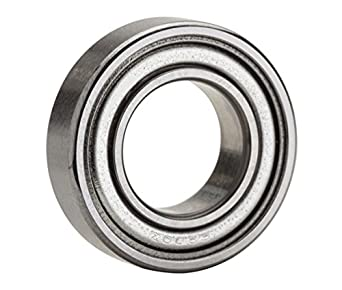 NTN Bearing 6005ZZ Single Row Deep Groove Radial Ball Bearing, Normal Clearance, Steel Cage, 25 mm Bore ID, 47 mm OD, 12 mm Width, Double Shielded