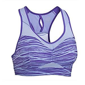Professional Women's Plastotype Sports Bra-85C/Purple