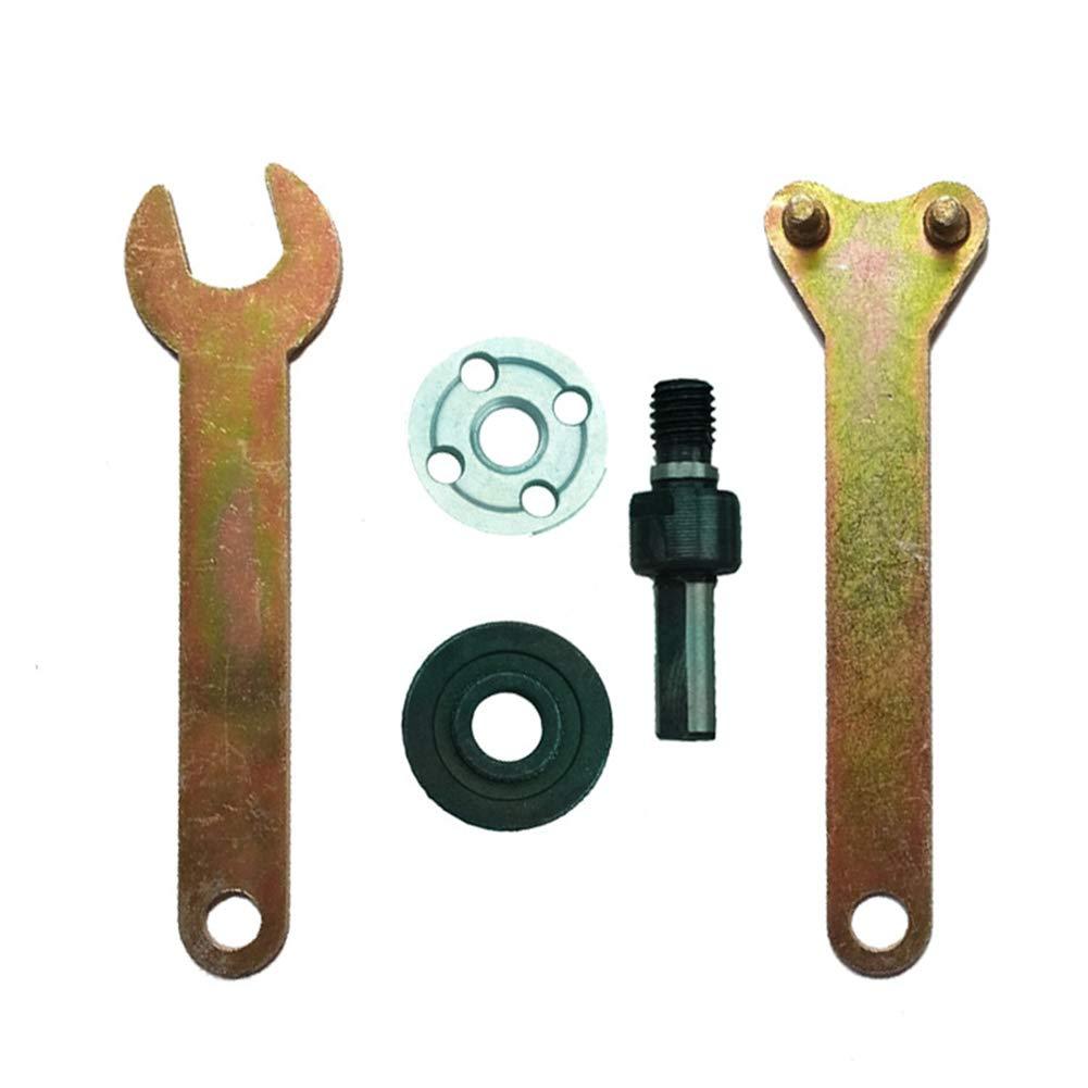Auplew Winkelschleiferzubeh/ör Verbindungsstange mit Pleuel und kleinem Schraubenschl/üssel f/ür das Umr/üst-Winkelschleifwerkzeug