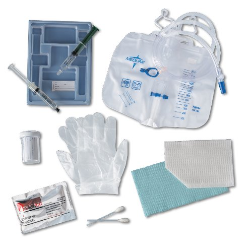 Medline Industries DYND11020 Add-A-Cath Foley Catheter Trays with 10 mL Syringe (Pack of 10) ()