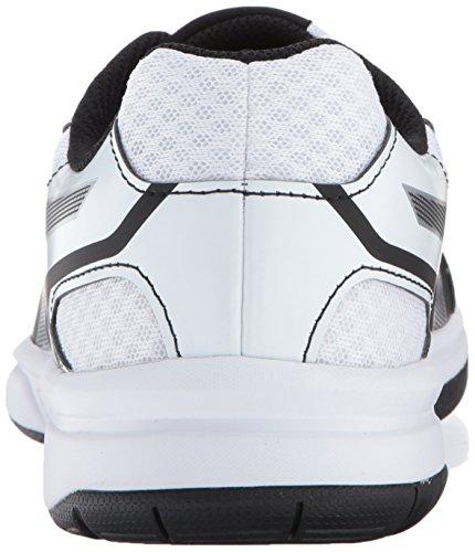 white 2 2 Upcourt Donna Da Asicswomens silver Black U01qw5