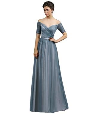 (ドレスウイェ) Doresuwe 女性の肩帯オフのイブニングドレス【並行輸入品