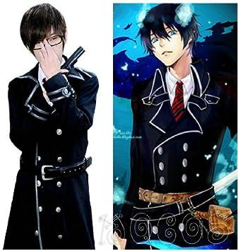 Amazon Com Ao No Exorcist Yukio Okumura Anime Japones Cosplay Disfraces Hombre Uniformes Escolares Para Ninos M Beauty