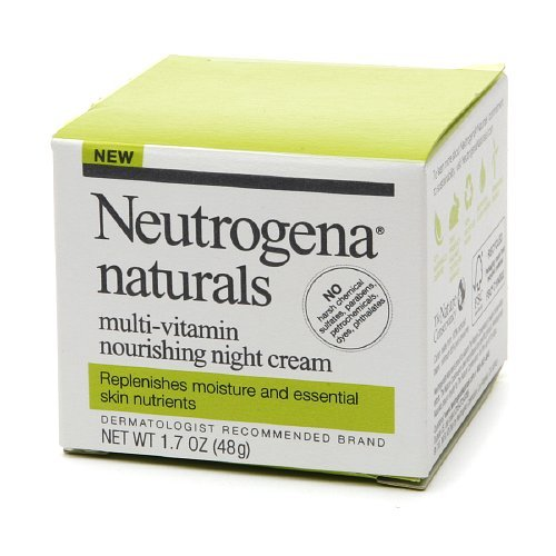 Neutrogena Naturals Nourishing Night Cream 1.7 oz (48 g) ...