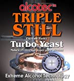 3x Alcotec Triple Still Turbo Yeast each makes
