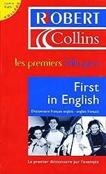 First in English : Dictionnaire français-anglais/anglais-français