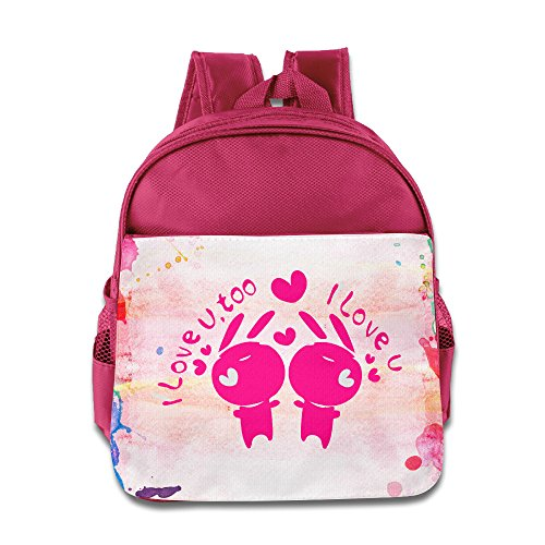 Price comparison product image BERTHA Love Love Bunny School Bags For Kids In Nursery Pink