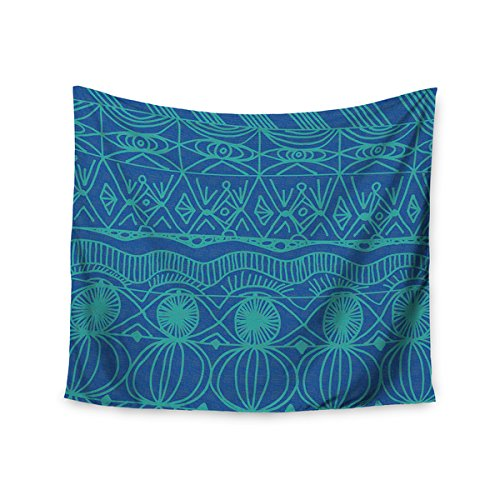 Price comparison product image Crombe 'Beach Blanket Confusion' 51x60-inch Tapestry