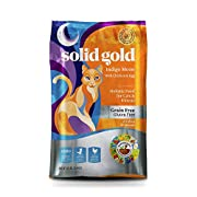 Solid Gold High Protein Dry Cat Food; Indigo Moon with Real Chicken & Eggs, 3lb