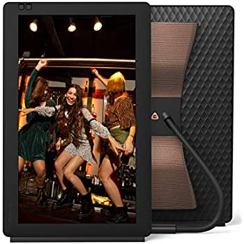 Nixplay Seed Wave 13.3 Inch WiFi Digital Photo Frame with Bluetooth Speakers - Share Moments Instantly via App or E-Mail