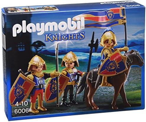 PLAYMOBIL Knights Royal Lion Knights - Figuras de construcción, Multi, Niño: Amazon.es: Juguetes y juegos