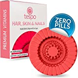 Cheap Tespo Hair, Skin and Nails Vitamin Pod | Biotin, L-Methylfolate, Collagen, DMAE | Supplement for Women and Men to Mix and Drink | Zero Pills | 31 Liquid Servings per Pod | Natural Strawberry Flavor