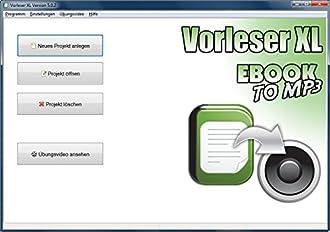 Vorlese Software Bild