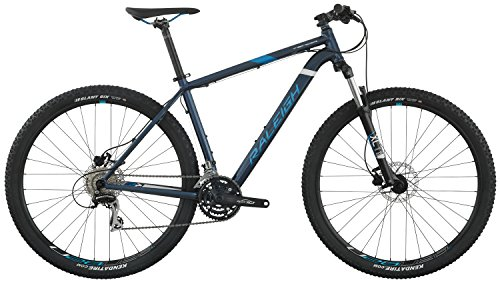 "Raleigh Bikes Tekoa Mountain Bike, Blue, 17""/Medium"