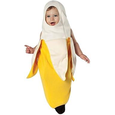 Amazon Com Peeled Banana Bunting Baby Infant Costume Newborn