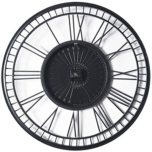 Amazon Com Infinity Instruments Country Lace Wall Clock Home Kitchen