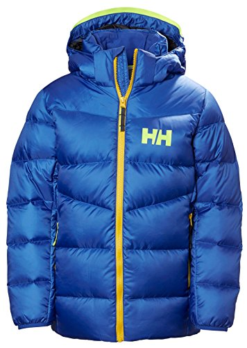 Helly Hansen Junior Isfjord Down Mix Jacket, Olympian Blue, Size (Junior Mix)