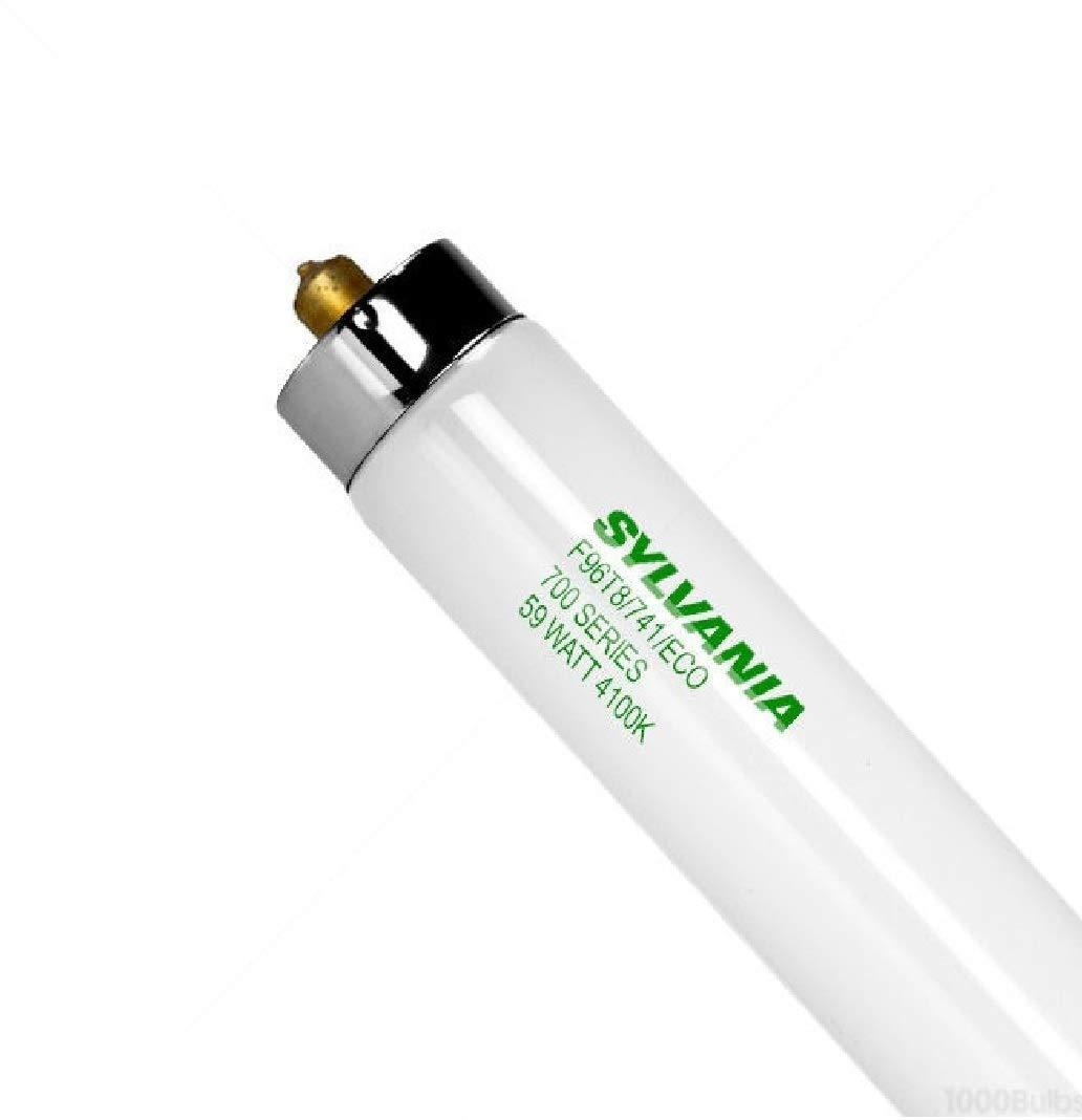 Sylvania 21736 FO96/741/ECO T8 Fluorescent linear tube 59w Single Pin 4100K - Case of 24