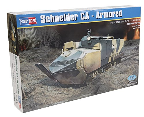 "HobbyBoss Echelle 1: 35Kit modèle ""Schneider CA blindés (Gris)"