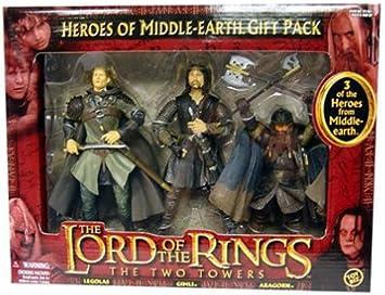 Toy Biz 81461 - El Señor de los Anillos Las Dos Torres Pack Regalo ...