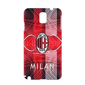 Associazione Calcio Milan Phone Case Delicate Design 3D Hard Plastic Phone Case for Samsung Galaxy Note 3 N9005 AC Milan Logo
