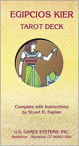 Egipcios Kier Tarot Deck (78 Major and Minor Arcana Tarot ...