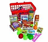 Peterkin UK Ltd Grocery Basket with Play Food